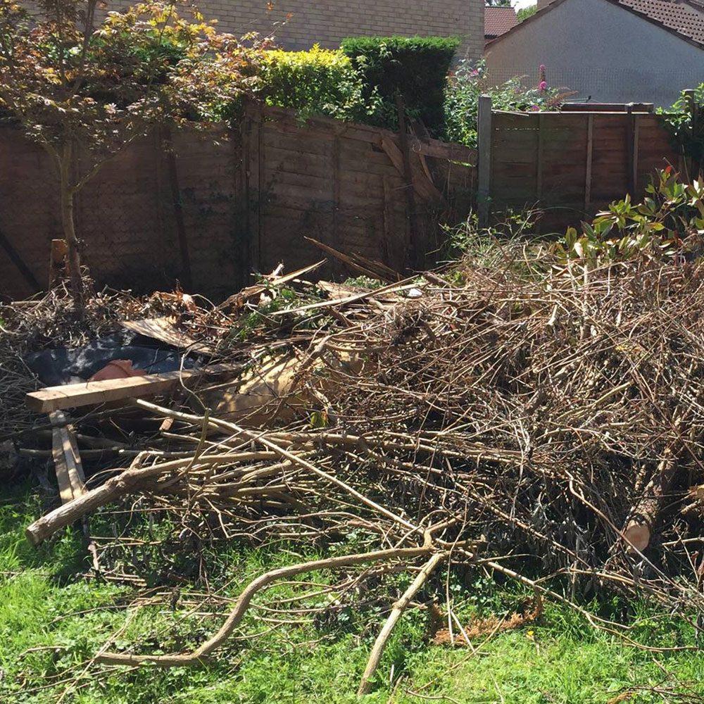 Garden-Rubbish clearance